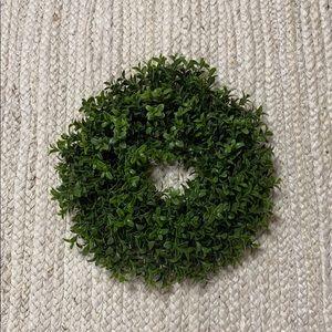 "NEW Hearth & Hand 8"" Faux Boxwood Wreath"